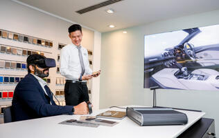 Audi is using VR and AR to let customers visualize their new cars in greater detail