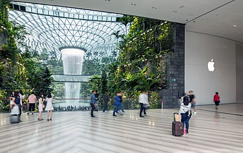 Apple's second store is set to open at Jewel Changi Airport on 13 July this year