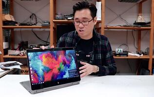 HP ZBook Studio x360 notebook: A power-packed professional convertible tested by the creative pros
