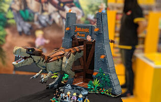 LEGO launches Jurassic Park: T. rex Rampage set in Singapore