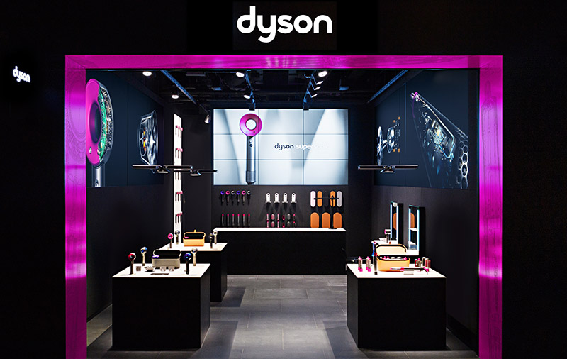 Dyson's personal care-focused demo store at Funan Mall to open on July 11