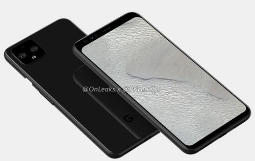 Purported renders of Pixel 4 XL reveal thick bezel at the top of the display