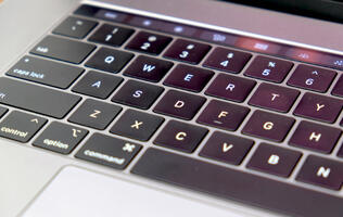 The new 2019 MacBook Air and entry-level 13-inch MacBook Pro also use the updated butterfly keyboard design
