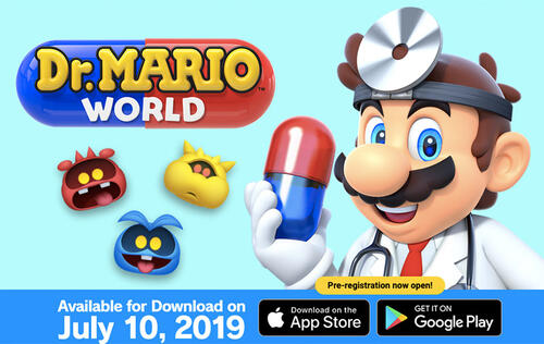 Dr. Mario World is now available on iOS and Android