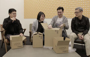 HWZ Unboxes! Lazada Mid-year Festival surprise boxes