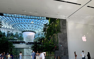 In pictures: Apple Jewel Changi Airport