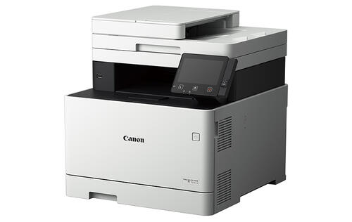 The Canon imageCLASS MF746Cx is a 27ppm laser printer that comes with tiny apps to simplify your printing routines