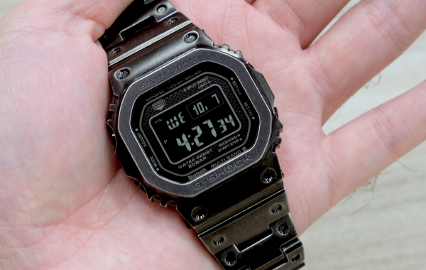 In pictures: The vintage-inspired Casio GMW-B5000V Aged IP G-Shock watch