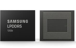 Samsung begins mass production of 12Gb LPDDR5 RAM