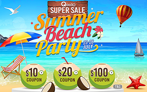 Deal alert: Qoo10 July Super Sale
