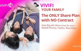 New MVNO Vivifi outs a singular mobile plan for the modern family with varying needs