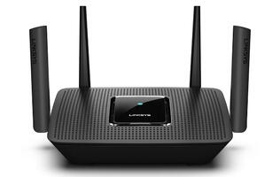 The new Linksys MR8300 is a tri-band router with mesh networking capabilities