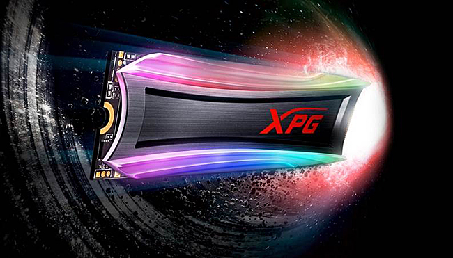 The ADATA XPG Spectrix S40G RGB SSD boasts of high performance with customizable RGB lighting to boot