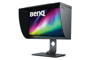 The BenQ SW270C is a USB-C monitor designed for photographers