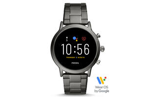 Fossil's newest Gen 5 Wear OS smartwatches tout an extended battery life and increased iPhone compatibility