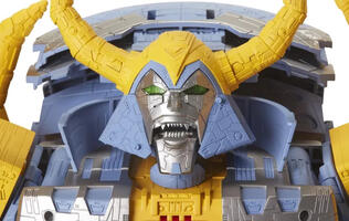 Watch one of the original Transformers designers assemble a giant Unicron toy