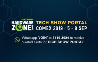 Get Comex 2019 content and brochure updates via HardwareZone's WhatsApp service!