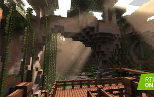 Minecraft is getting ray tracing support and it looks beautiful