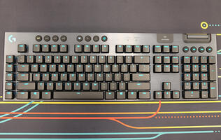 "Logitech G915 Lightspeed Gaming Keyboard review: ""Impossibly thin"""