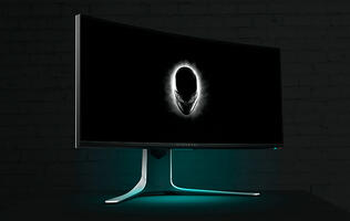 Alienware and Dell's new gaming monitors are all about curved displays and high refresh rates