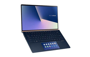 The ASUS ZenBook 14 UX434 with ScreenPad 2.0 will be launched at COMEX 2019