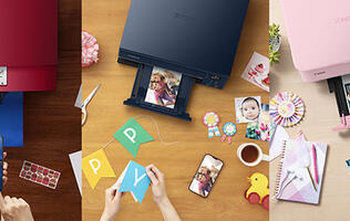 Get new creative ways to print with Canon's latest all-in-one printers