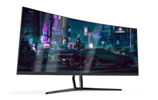 The SuperSolid XG340R is a 34-inch curved display that won't break the bank