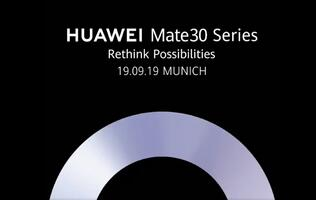 Huawei confirms launch date for the Mate 30 series
