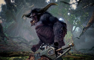 Rajang is coming to Monster Hunter World: Iceborne in October
