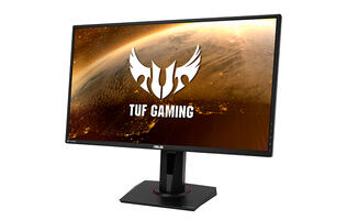 The ASUS TUF Gaming VG27BQ monitor has a less than half millisecond response time