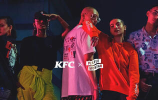Display your fried chicken love with KFC's new...streetwear line?