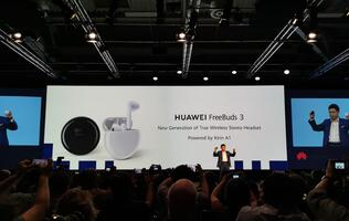 Huawei announces new FreeBuds 3 at IFA 2019