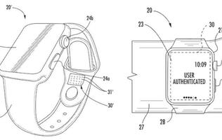 Patents reveal smart Apple Watch bands with Wrist ID and visual indicators