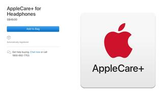 Apple introduces S$49 AppleCare+ for Headphones