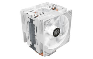 Cooler Master's popular Hyper 212 LED Turbo cooler now comes in white
