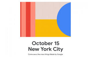 Google will announce the Pixel 4 on 15 October