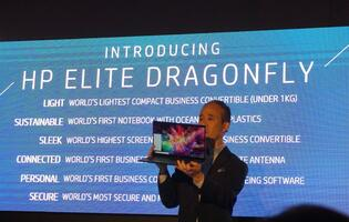 HP's new Elite Dragonfly defies traditional business notebooks with zero drawbacks