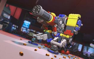 Get bricky with Overwatch's latest in-game event with LEGO