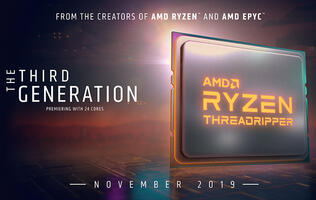 AMD will launch both the Ryzen 9 3950X and third-gen Threadripper in November