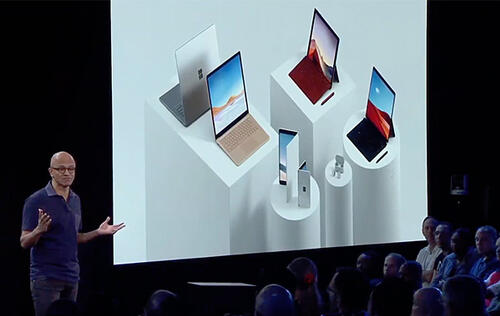 Microsoft announces 5 new Surface devices and a phone!