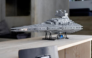 LEGO's massive Imperial Star Destroyer is now available to buy in Singapore