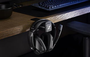 Sennheiser's wireless GSP 370 gaming headset promises 100 hours of battery life