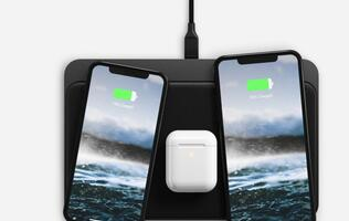 Nomad's new Base Station Pro can wirelessly charge 3 devices at the same time