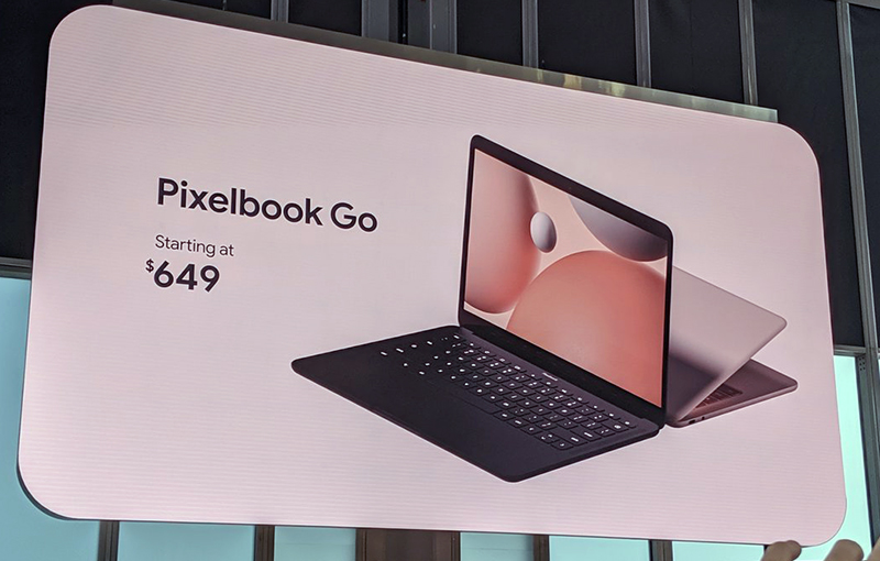 Google announces Pixelbook Go starting at US$649