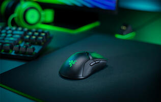 The Razer Viper Ultimate wireless gaming mouse weighs just 74g