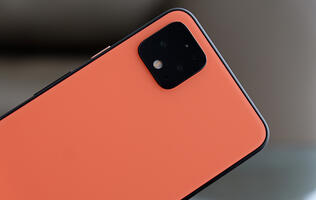 The Google Pixel 4's display only runs at 90Hz at high brightness levels