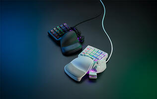 Razer's Tartarus Pro keypad comes with pressure-sensitive optical switches