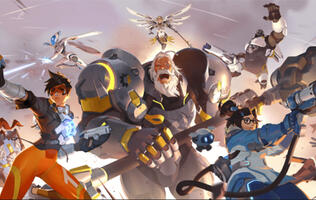 Overwatch 2 artwork featuring Echo leaks through Blizzard store