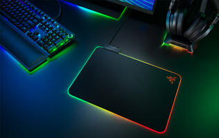 Razer's Firefly V2 mouse pad is thinner and brighter than before