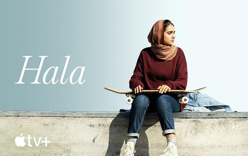 "Watch the trailer for ""Hala"" — one of the first movies to hit Apple TV+"